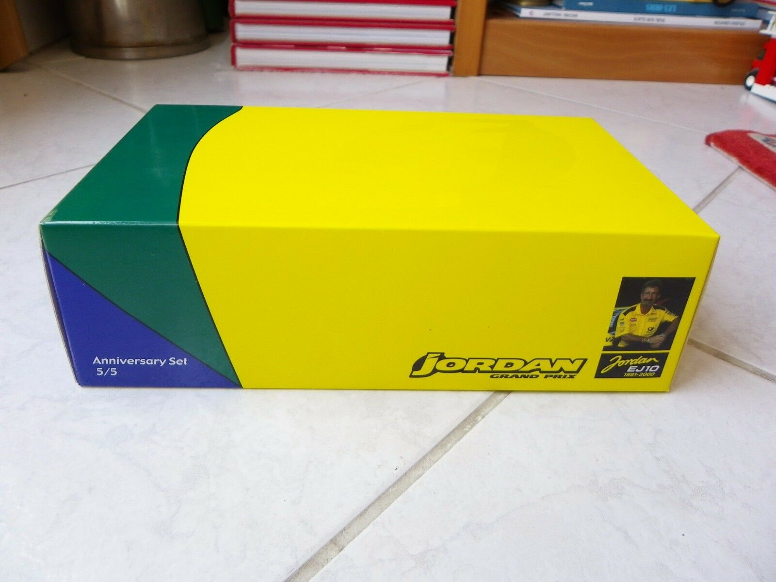 Coffret Jordan Mugen Honda 199 EJ10 99' 00' Frentzen Minichamps  F1 Set 5 5