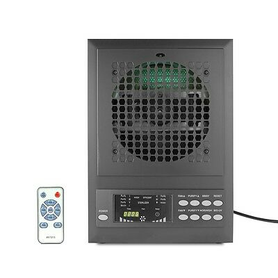 AIR PURIFIER HEPA CARBON IONIC OZONE GENERATOR CLEARNER UV-C REMOTE CLEANER NEW