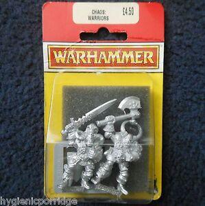 1994 Guerrier Chaos B2 Jeux Atelier Citadelle Warhammer Armée Combattant Maléfique Mib Gw 1021991132012