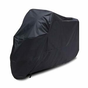 Rain-Waterproof-Protection-Motorcycle-Cover-Motorbike-Universal-Breathable-Black