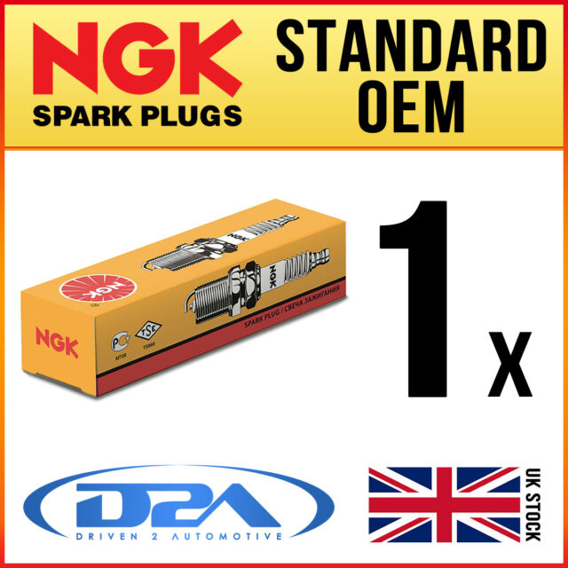 1x NGK BPR6HS #7022 Standard Spark Plug For HYOSUNG TE50 07-->