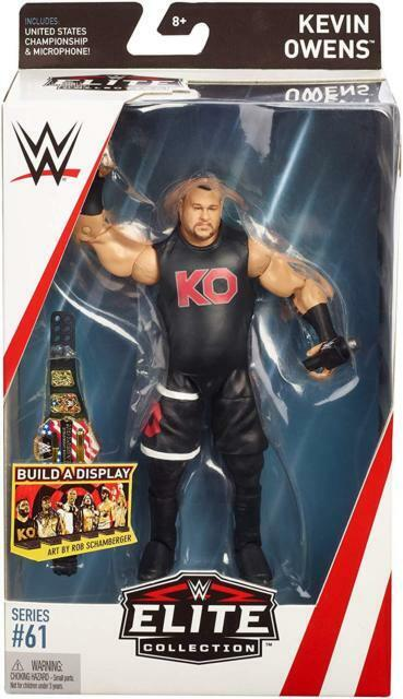 WWE Wrestle Mania Kevin Owen Action Figure Toy NEW