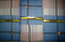 12 Stück Feine Herren Taschentücher Stofftaschentücher 100% Baumwolle Streifen**