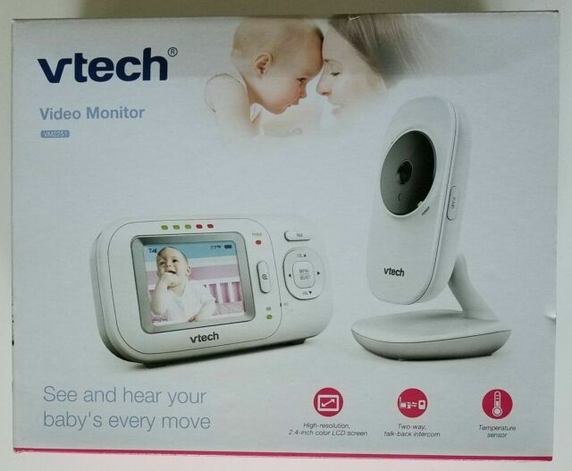 Baby Monitor w//Full-Color and Automatic Night Vision Digital Video VTech