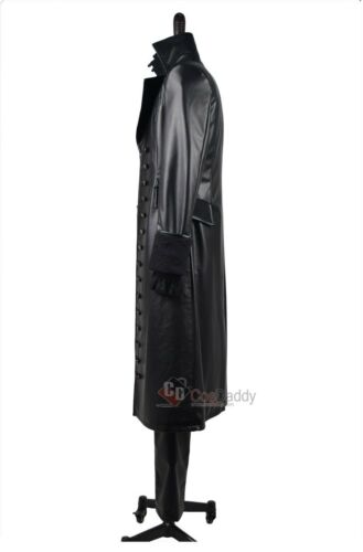 Once Upon A Time Captain Hook Black Jacket Outfit cosplay costume Tailored