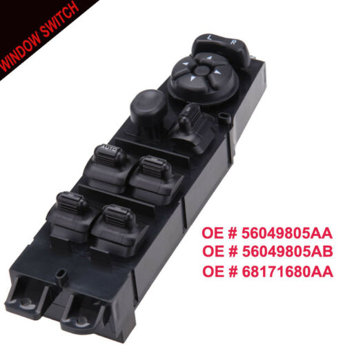 Dodge Ram 1500 Truck Quad Cab Front Master Power Window Switch Driver Side