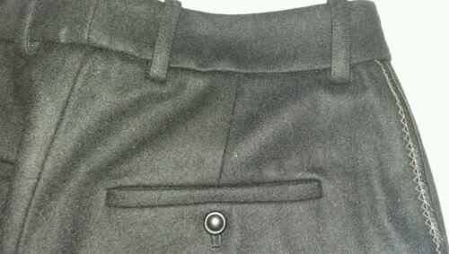 Femme H3crpa Noir Uk12 40 Pantalon D'agneau Cuir Manoush Croquet fAwq4tt