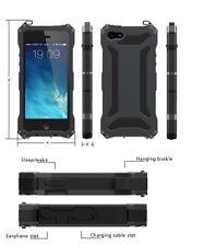 Waterproof Shockproof Gorilla Glass Aluminum Metal Case Bumper For Apple iPhone