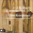 J.S. Bach: Cantatas, Vol. 10 (CD, Dec-2005, 3 Discs, Challenge Records)