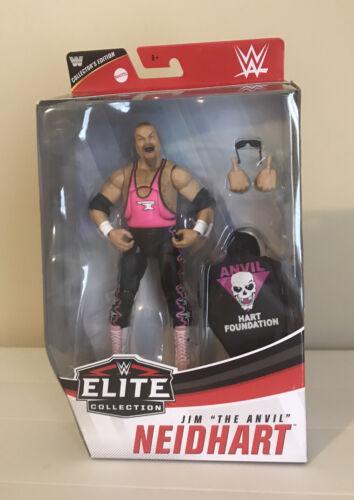 Mattel WWE Elite Collection Jim The Anvil Neidhart Action Figure