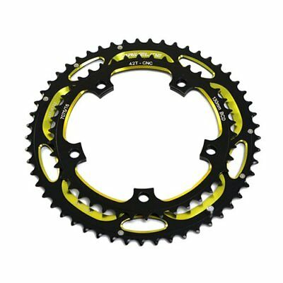 BCD 130mm Black Driveline CNC Alloy 7075 Road Bike Bicycle Chainring 60T