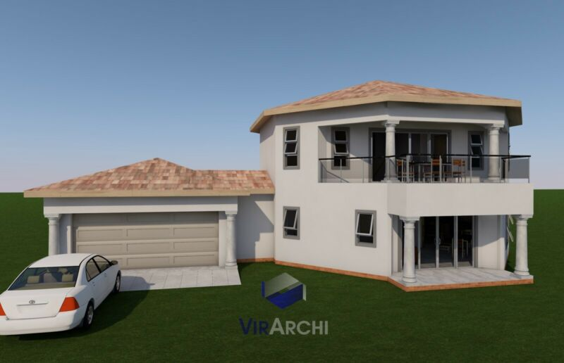 House Plan for Sale - 8 Corner Double Story | Other ...