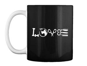 Love Dog Groomer - Gift Coffee Mug