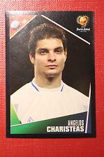 Panini EURO 2004 N. 46 HELLAS CHARISTEAS NEW With BLACK BACK TOPMINT!!