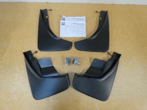 2011-2020 Jeep Grand Cherokee Deluxe Front /& Rear Molded Splash Guards Mud Flaps