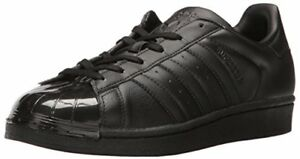 outlet store 52431 807c3 Image is loading adidas-Originals-Womens-Superstar-Glossy-Toe-W-Fashion-