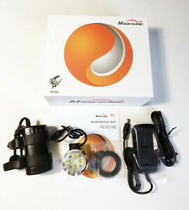 USED! MagicShine MJ-856 4 mode 1600 Lumen LED Bike Light Head ONLY O-rings