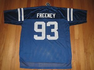 Details about Indianapolis Colts Dwight Freeney NFL JERSEY Men's Large **NEW**