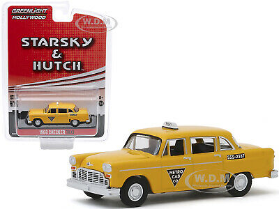 1968 Checker taxi-Starsky /& Hutch Movie TV *** GreenLight 1:64 OVP