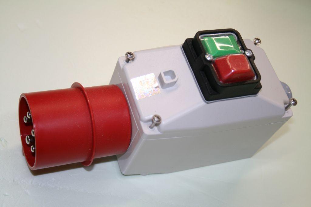 Motorschalter 2,2-4,0 KW, M-Schutz 4-6,3A, Unterspannungsrelais, 16A, tripus