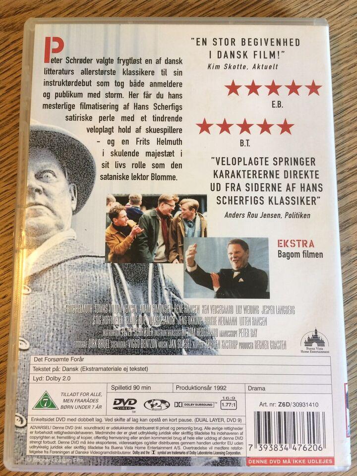 Det forsømte Forår, DVD, drama