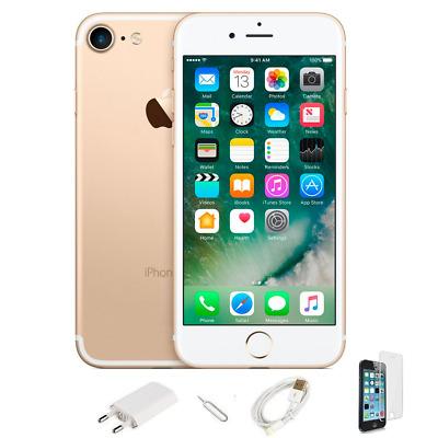 IPHONE 7 RICONDIZIONATO 128GB GRADO A ORO GOLD ORIGINALE APPLE RIGENERATO 128 GB