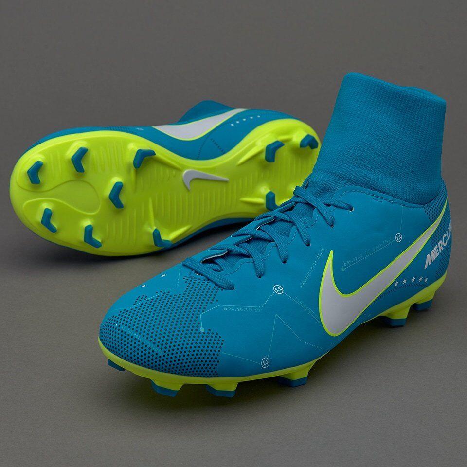 Nike Jr Mercurial Victory Victory Victory VI DF FG Neymar FG 921486-400 Blau Fussball Schuhe f3c632