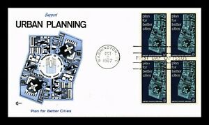 DR-JIM-STAMPS-US-URBAN-PLANNING-FOR-BETTER-CITIES-FIRST-DAY-COVER-BLOCK