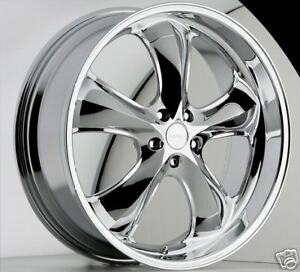 22-034-Chrome-INCUBUS-ALLOY-Wheels-5-LUG-FWD-only
