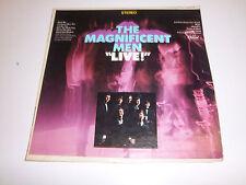 """LP 33RPM The Magnificent Men """"LIVE"""" Capital ST2775 Original Jacket Sounds Great"""