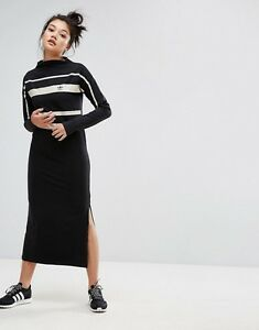 robe adidas noire longue