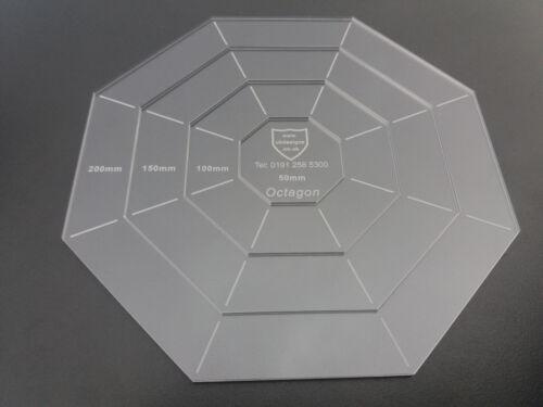 heart oval triangle octagon circle hexagon acrylic template setspentagon