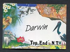 "Illustrated Card - Darwin ""Top End"" N.T. Stamp/Postmark - 1990"
