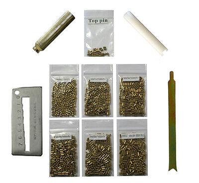 Custom Kwikset Rekey Kit Locksmith Rekeying Pin Kits bottom 200 each 4 tools Top