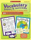 Vocabulary Games & Activities That Boost Reading and Writing Skills, Grades 2-3 by Immacula A Rhodes (Paperback / softback)