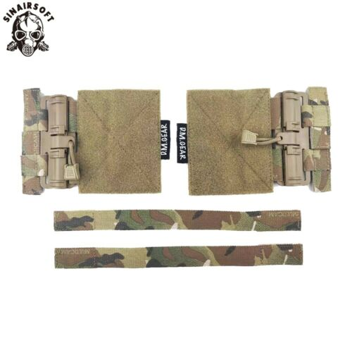 Tactical MOLLE Quick Release Buckle Assembly For JPC CPC NCP Vest Fast Fit Set