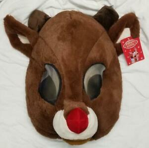 MASKIMALS-RUDOLPH-Red-Nosed-Reindeer-FULL-Head-Mask-Halloween-Costume-CosPlay