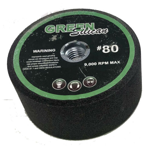 """4/"""" Green silicon carbide grinding stone"""