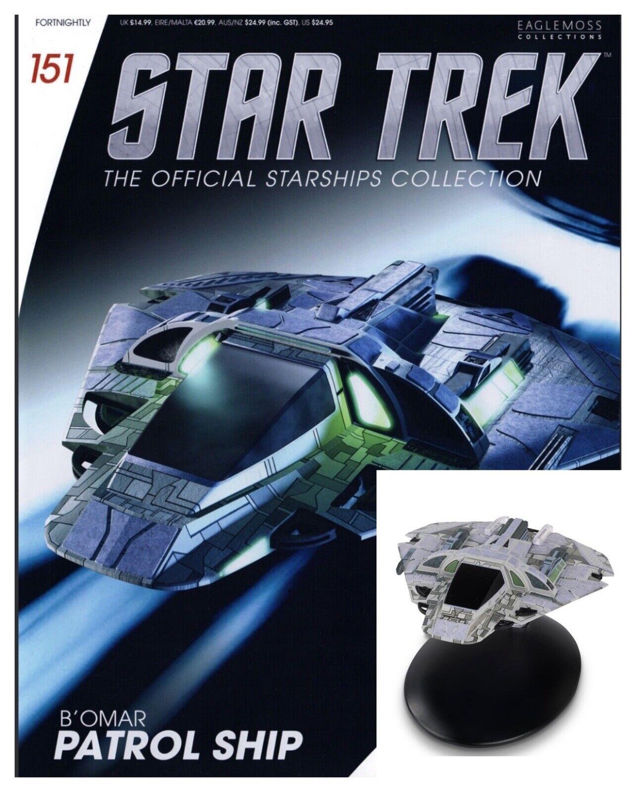 Issue 151: B'omar Patrol Starship