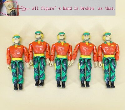 Special Forces lanard action figure hand is broken #G5 lot of 5 The Corps
