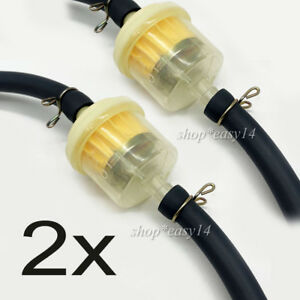 2x-Benzinfilter-mit-Schlauch-Motorrad-Kraftstofffilter-fuer-Roller-Filter-6mm-8mm