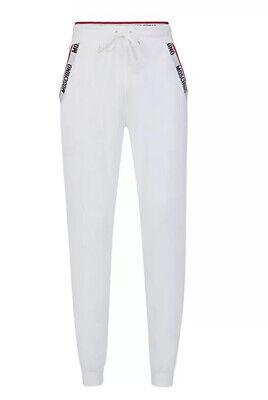 Moschino Underwear Mens Logo Tape Grey Jogging Bottoms