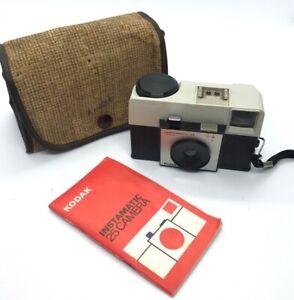 1960s-KODAK-INSTAMATIC-25-126-Cartuccia-Film-Camera-ottime-condizioni-con-custodia