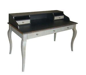 schreibtisch sekret r designer fichte massiv vintage wei dunkel paris dm55 ebay. Black Bedroom Furniture Sets. Home Design Ideas