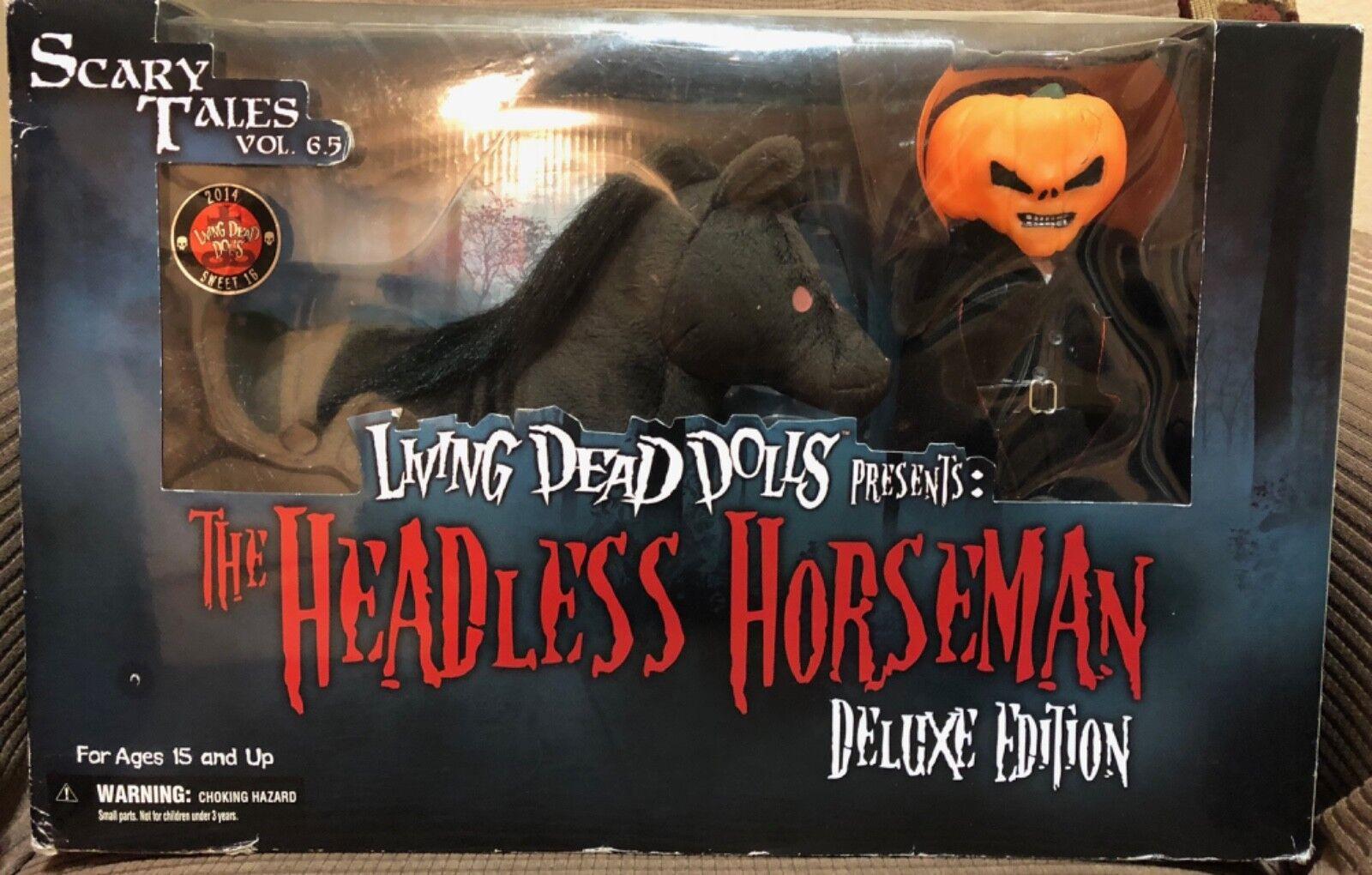 Living Dead Dolls  caballo y jinete decapitado-Nuevo en Caja Original