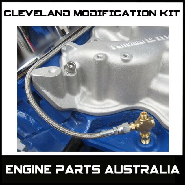 FORD CLEVELAND 302 351 V8 STROKER OIL SYSTEM MODIFICATION KIT XW XY XA XB GT ETC