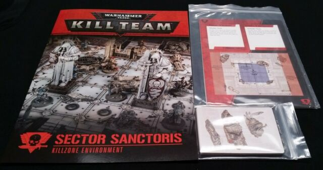 Kill Zone Sector Sanctoris Rules Cards Missions Warhammer 40K Team Environment