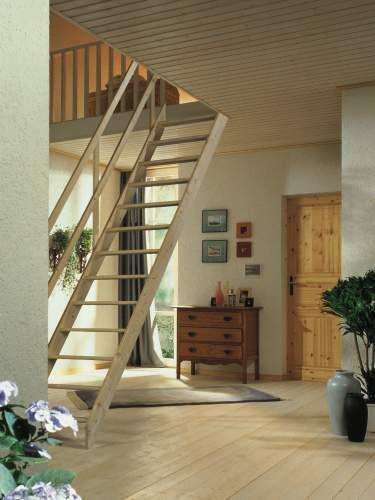 Deluxe Extra Wide Space Saving//Saver Staircase//Stairs Lisbon Loft Stair Ladder