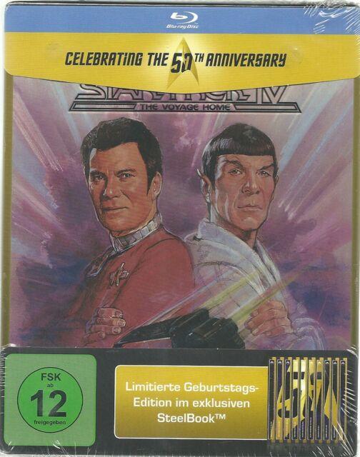 Star Trek 04 Zurück in die Gegenwart Blu-ray Steelbook Limited Edition NEU OVP S
