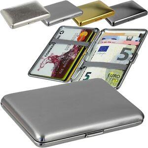 SMARTCAZE - Spitfire - Edelstahl - Kreditkartenetui Visitenkartenetui Card Case
